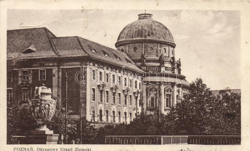 Poznan, Posen; Okregowy Urzad Ziemski