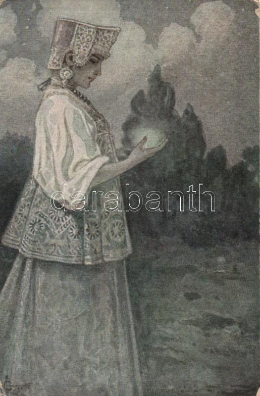 Glowworm, T.S.N. No. 95. s: Solomko, Szentjánosbogár, T.S.N. No. 95. s: Solomko