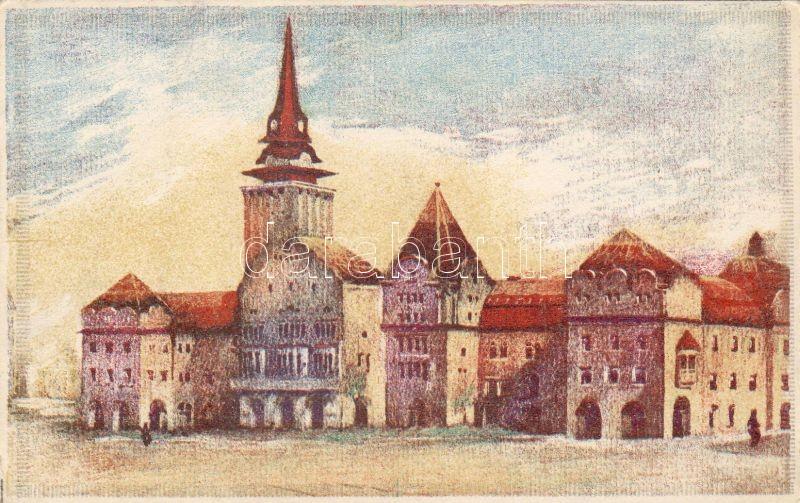 Subotica, Town hall, Szabadka, Városháza, 'Magyar Jövő Részvénytársaság' 50. kiadása