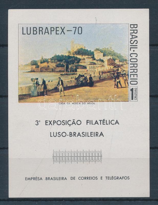 Stamp Exhibition LUBRAPEX '70 Bélyegkiállítás LUBRAPEX '70