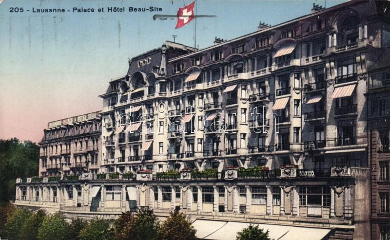 Lausanne, Hotel Beau-Site