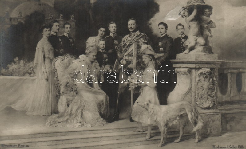 Wilhelm II and the Royal family