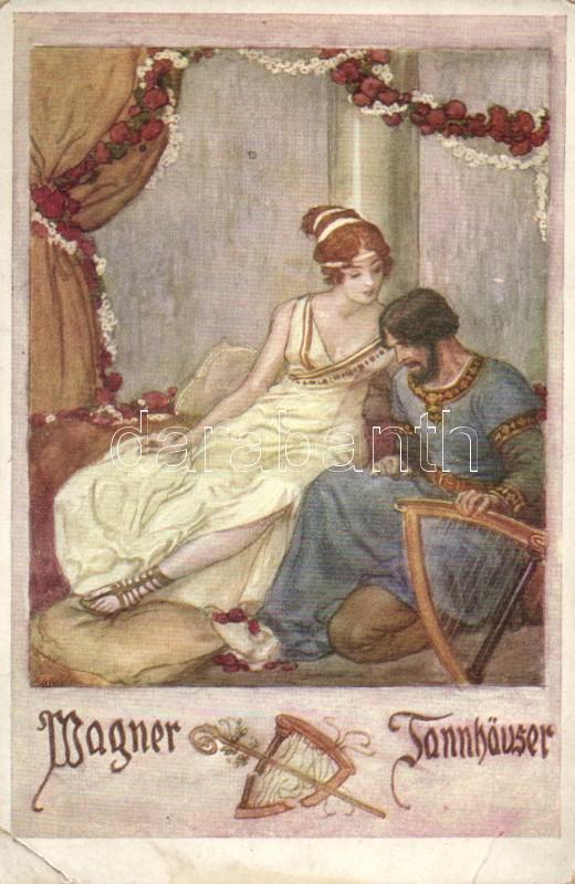 Wagner´s Tannhäuser, illustration, Wagner: Tannhäuser, illusztráció
