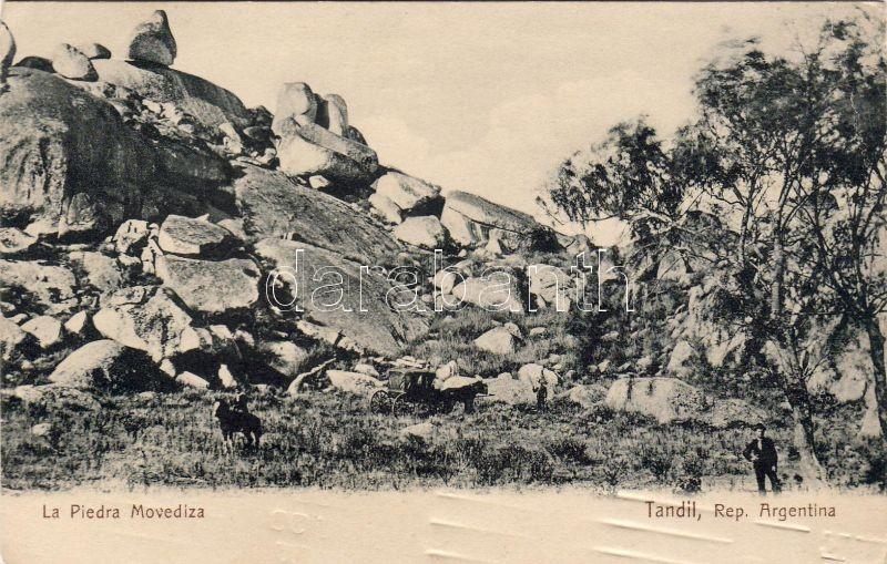 Tandil, La Piedra Movediza / rock