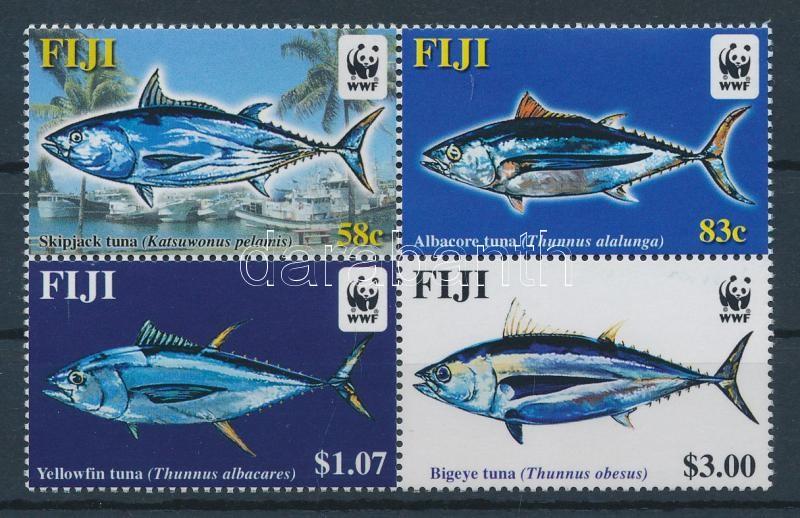 WWF tuna block of 4, WWF Tonhal négyestömb