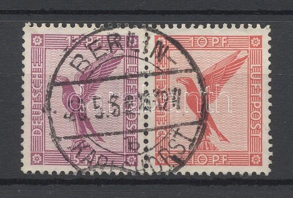 block from stamp booklet sheet Füzetösszefüggés