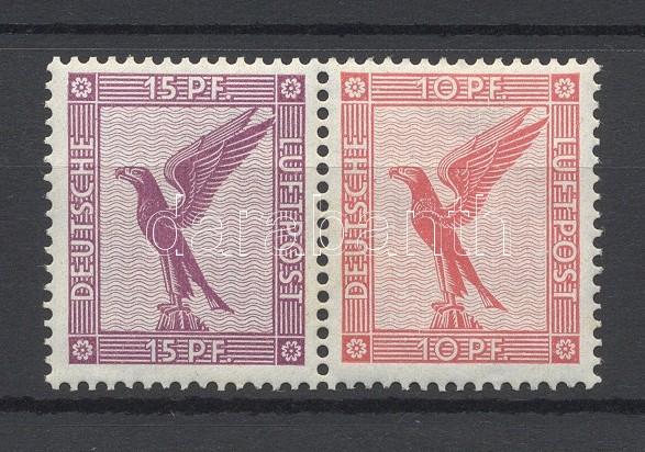 Füzetösszefüggés block from stamp booklet sheet