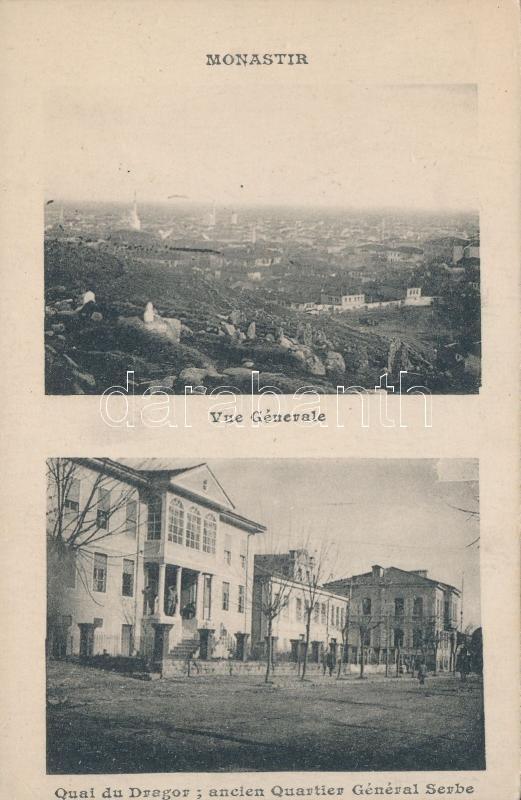 Bitola, Monastir; Quai du Dragor, Serbian quarter