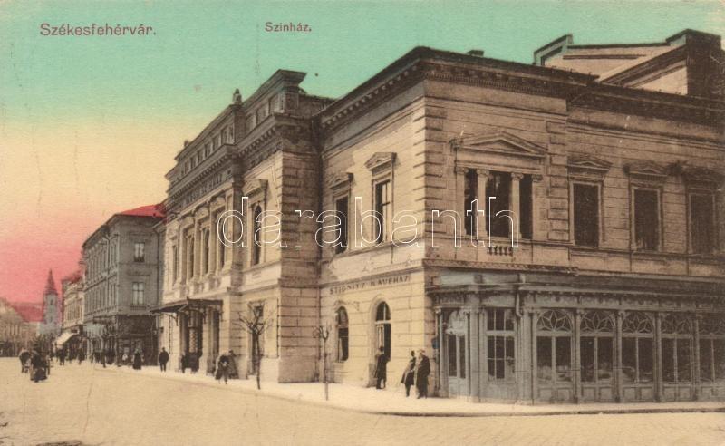 Székesfehérvár, színház, Stignitz Kávéház