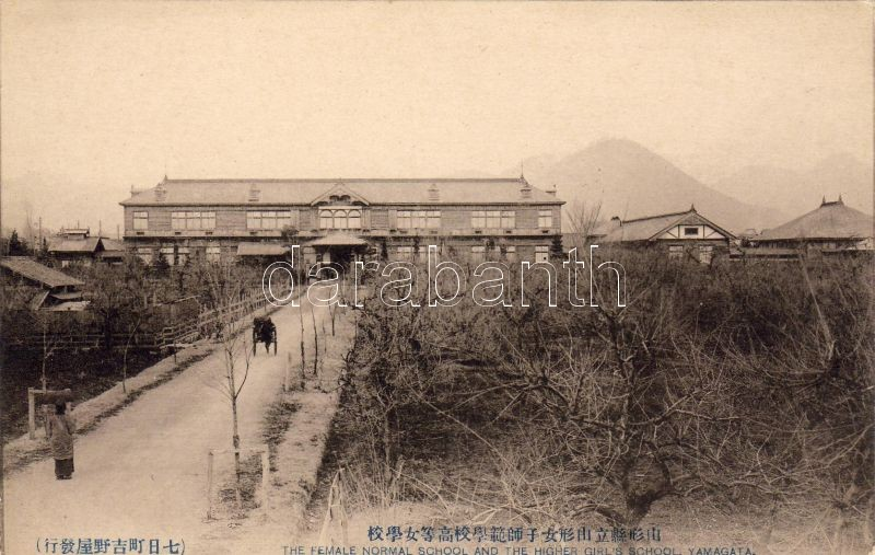 Yamagata, Female normal school and the higher girl's school