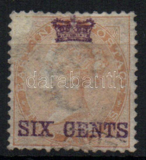 Definitive stamp with overprint Forgalmi bélyeg felülnyomással