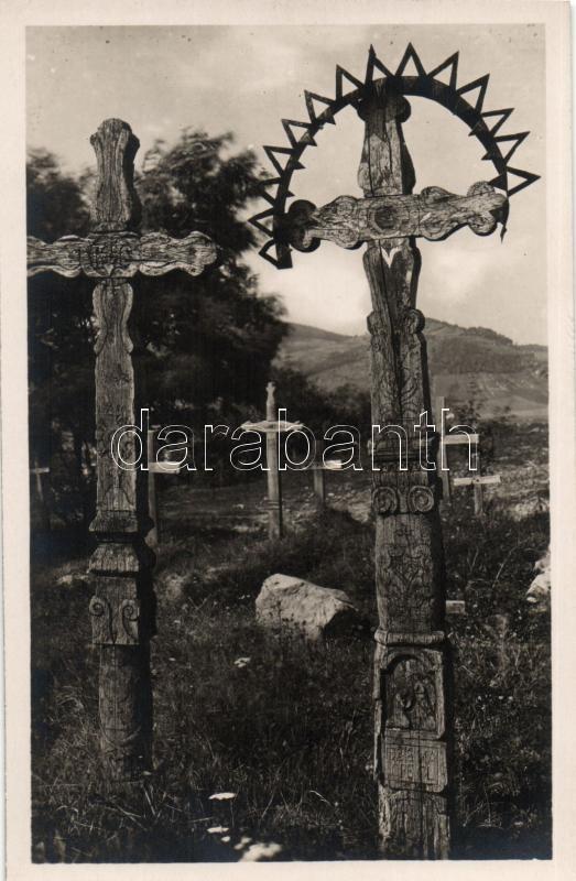 Detva, cemetery, Gyetva, temető