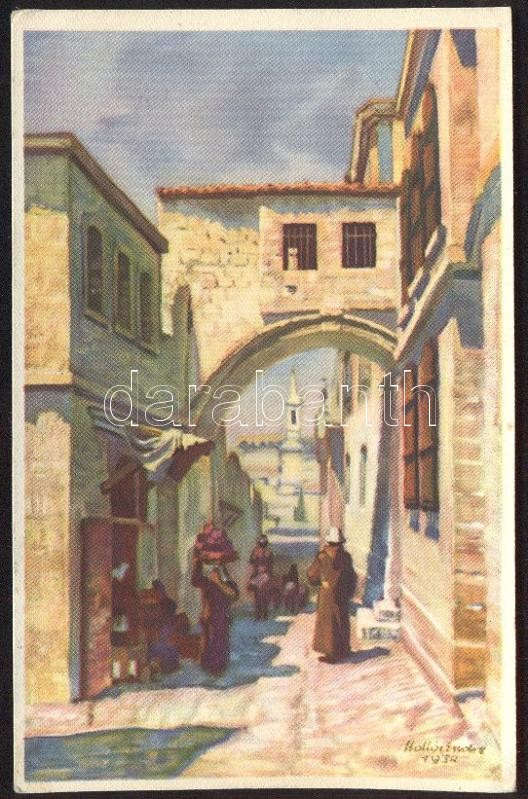Jerusalem, Via Crucis s: Hollós Endre
