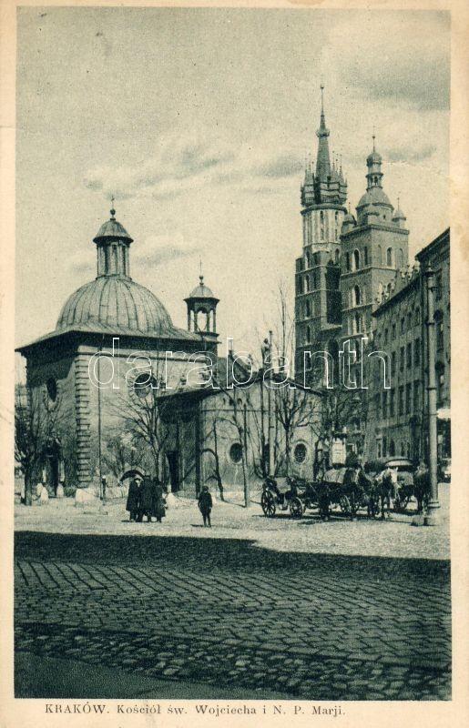 Kraków, Kosciol sw. Wojciecha i N.P. Marji / church