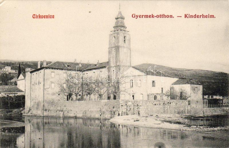 Crikvenica Kinderheim / Home of children, Cirkvenica Kinderheim / Gyermekotthon