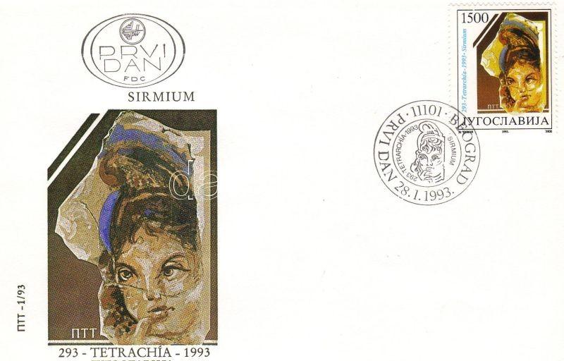 Diocletian reforms the realm FDC, Diokletianus birodalmi reformja FDC, Diokletianischen Reichsreform FDC