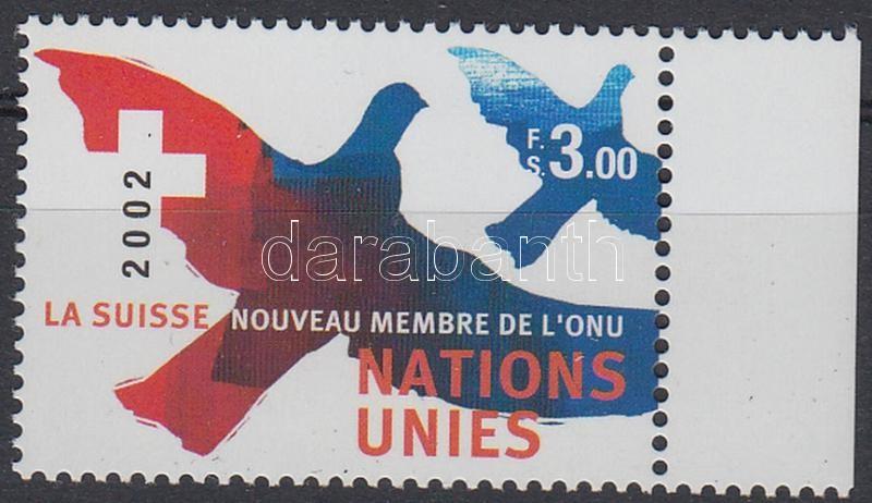 Switzerland joined to the UNO Svájc csatlakozása az ENSZ-hez