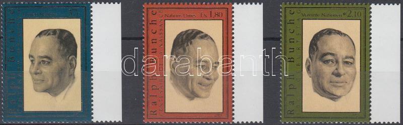 Ralph Bunche Centenary of Birth diff. stamp 100 éves Ralph Bunche klf bélyegek