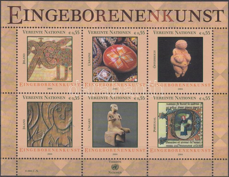 Bennszülött művészet blokk Indigenous art block