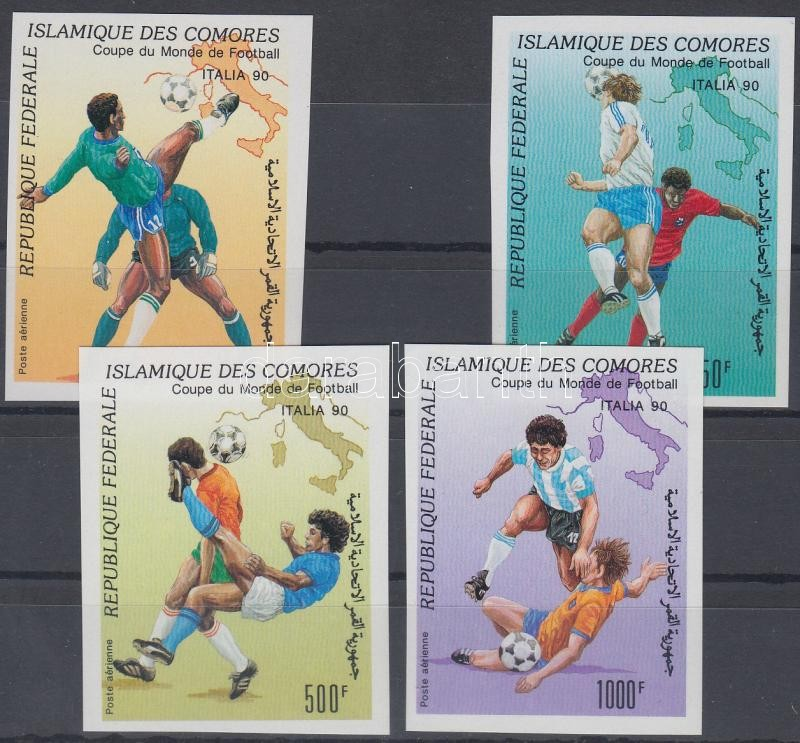 Football World Cup imperforated set Labdarúgó VB vágott sor