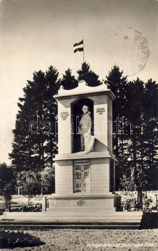 Eppelborn - Dirmingen WWI war memorial, Eppelborn - Dirmingen első világháborús emlékmű