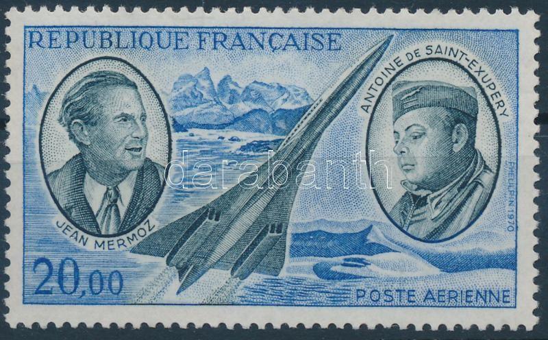 Jean Mermoz and Antoine de Saint-Exupéry Jean Mermoz és Antoine de Saint-Exupéry