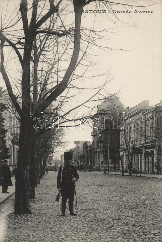 Batumi, Batoum; Grand Avenue