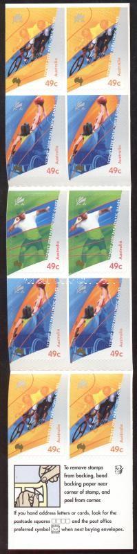 Summer Paralympiad, Sydney stamp-booklet Nyári paralimpia, Sydney bélyegfüzet