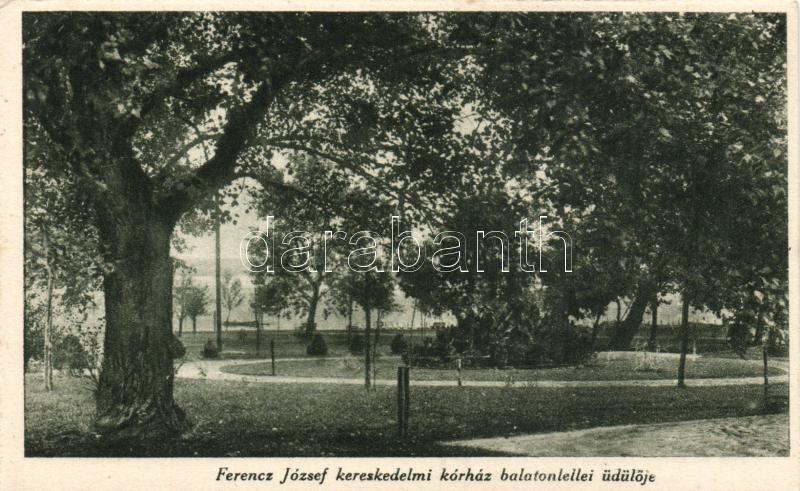Balatonlelle, a Ferenc József kereskedelmi kórház üdülője