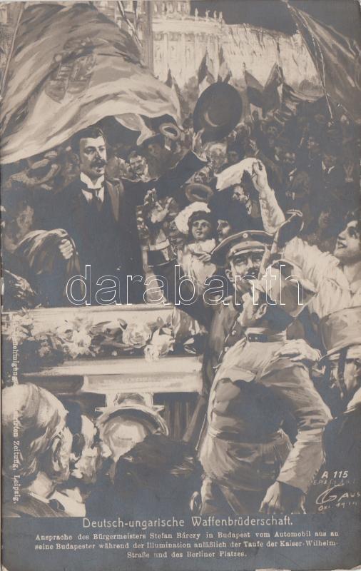 German-Hungarian comrade in arms s: Gause, Német-magyar fegyverbarátság s: Gause