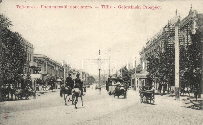 Tbilisi, Tiflis; Golovinski prospect