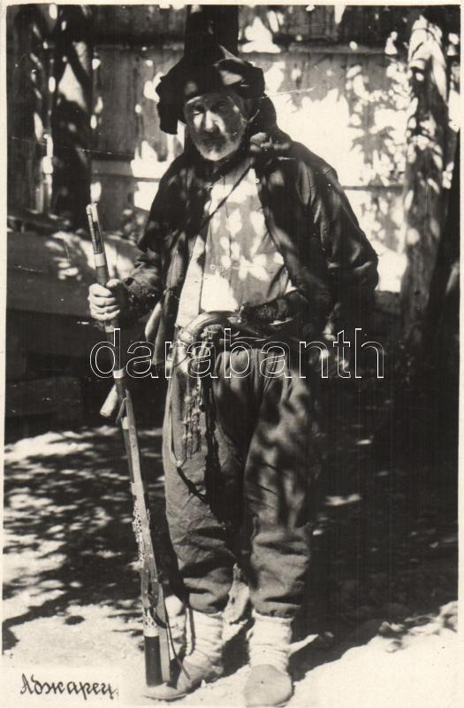 Georgian man, Adjara, folklore, Grúz férfi, folklór, Adjara