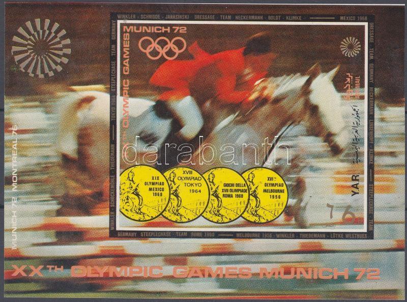 Summer Olympics, Münich block Nyári Olimpia, München blokk