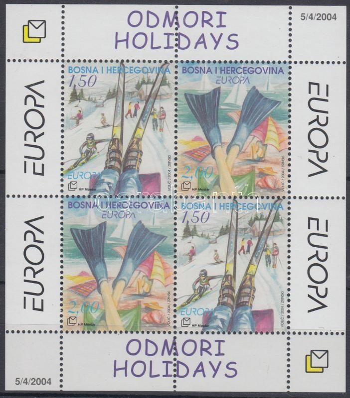 Europe CEPT Holiday Europa CEPT Vakáció blokk