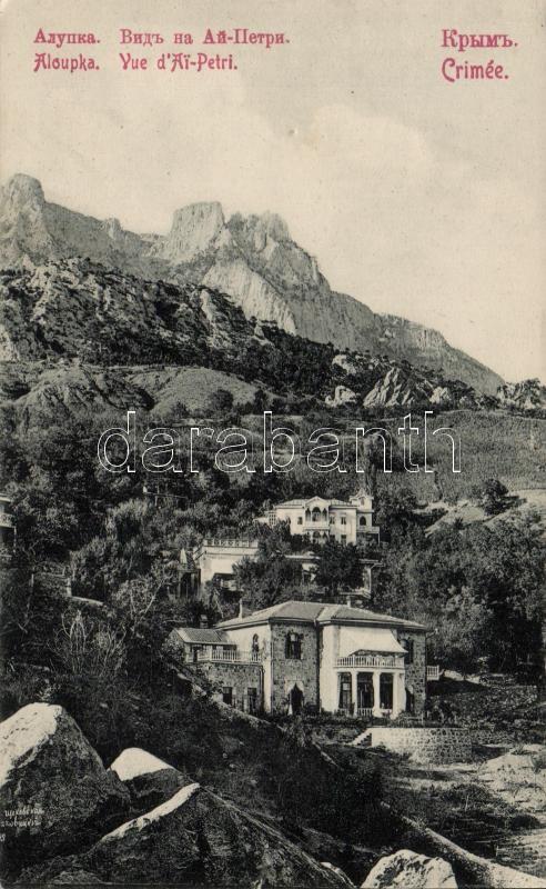 Alupka, Ai-Petri mount (pinhole)