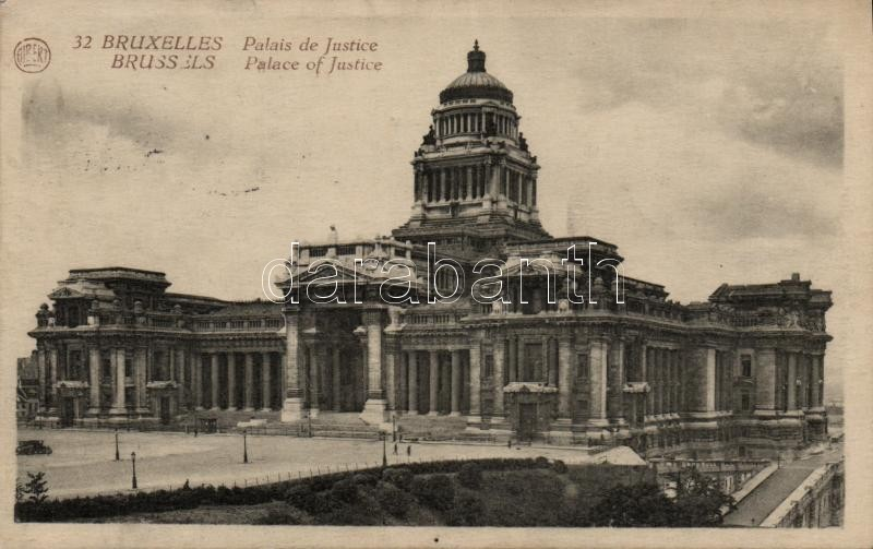 Brussels, Bruxelles; Palace of Justice