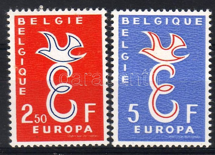 Europa CEPT set, Europa CEPT sor, Europa CEPT Satz