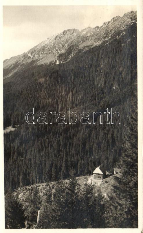 Piatra Craiului Mountains, Königstein; hut, Királykő, menedékház