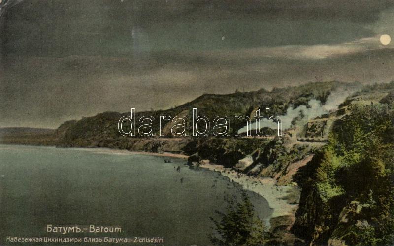 Batumi, Batoum; railroad