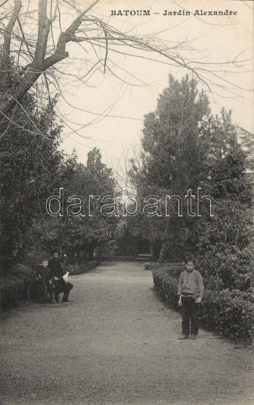 Batumi, Batoum; Alexander park