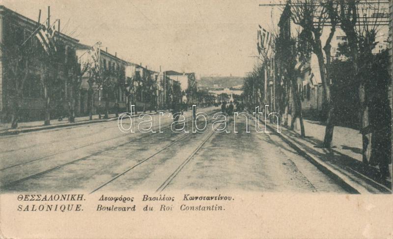 Thessaloniki, Salonique; Constantin boulevard