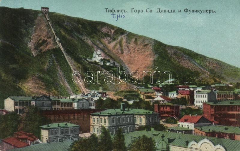 Tbilisi, Tiflis; St David mountain, funicular