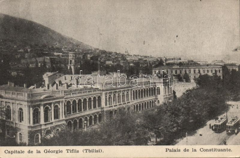 Tbilisi, Tiflis; Palais de la Constituante / palace