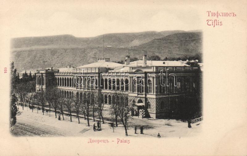 Tbilisi, Tiflis; palace