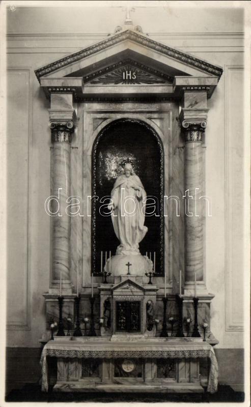 Keszthely, Karmelita bazilika, Jézus Szent Szíve oltár