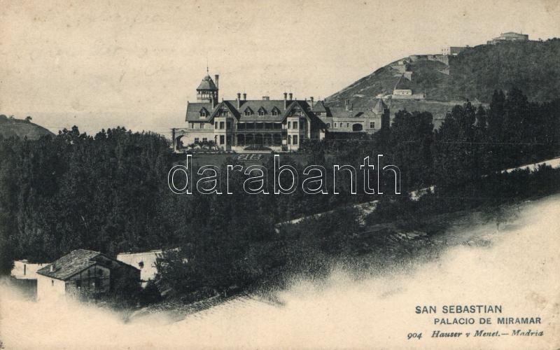 San Sebastián, Miramar Palace
