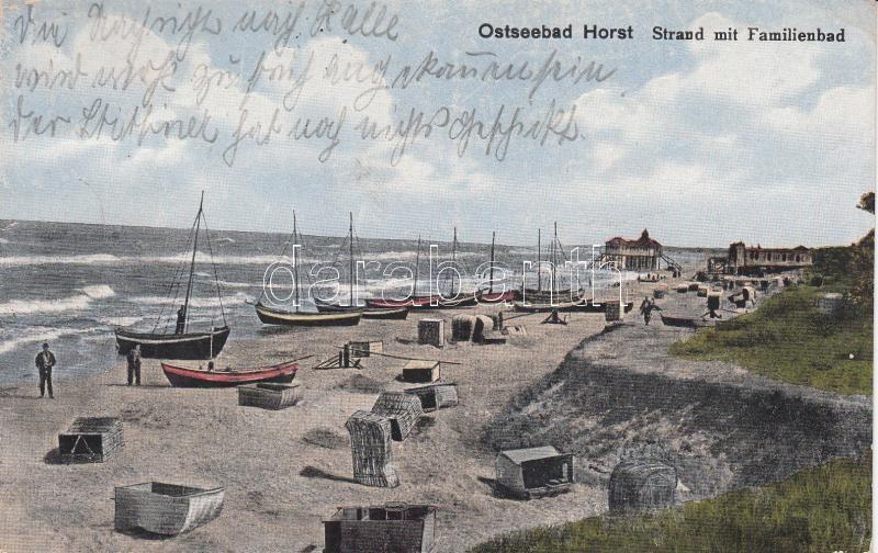Niechorze, Horst; coast, boats