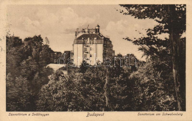 Budapest XII. Svábhegy, szanatórium