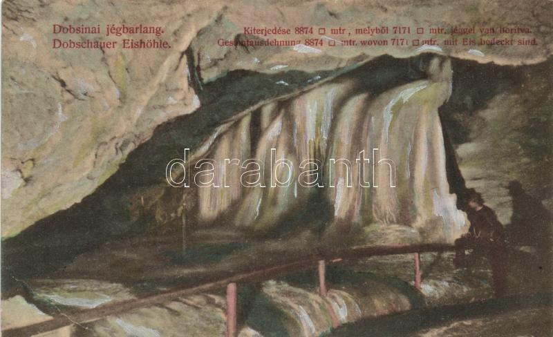 Dobsiná, Dobschauer; ice cave, Dobsina, Jégbarlang