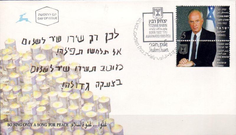 Rabin miniszterelnök FDC Rabin prime minister FDC